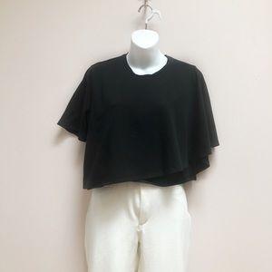 Kendall + Kylie draped t-shirt